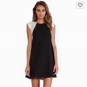 NWT tfnc Jewel Black Pearl Formal Cocktail Dress S